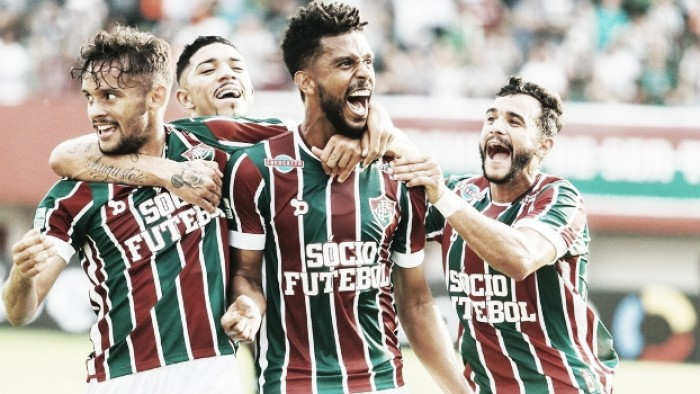 Em jogo emocionante, Fluminense vence Figueirense e se aproxima do G-4