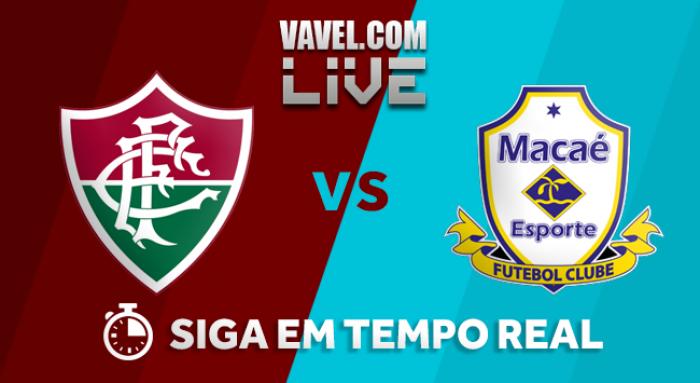 Resultado Fluminense x Macaé no Campeonato Carioca 2018 (1-0)