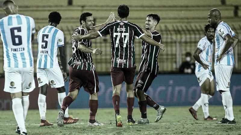 Fluminense goleia Macaé e volta ao G-4 do Cariocão
