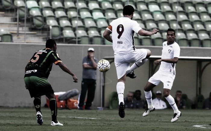Com gol de Fred, Fluminense bate América-MG em primeira vitória na história do duelo