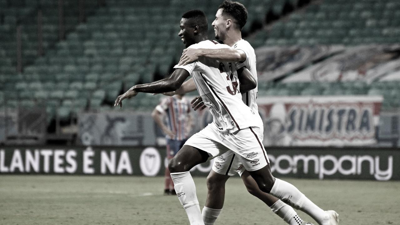 Técnico Marcão celebra 'grande jogo' do Fluminense após vitória em Salvador