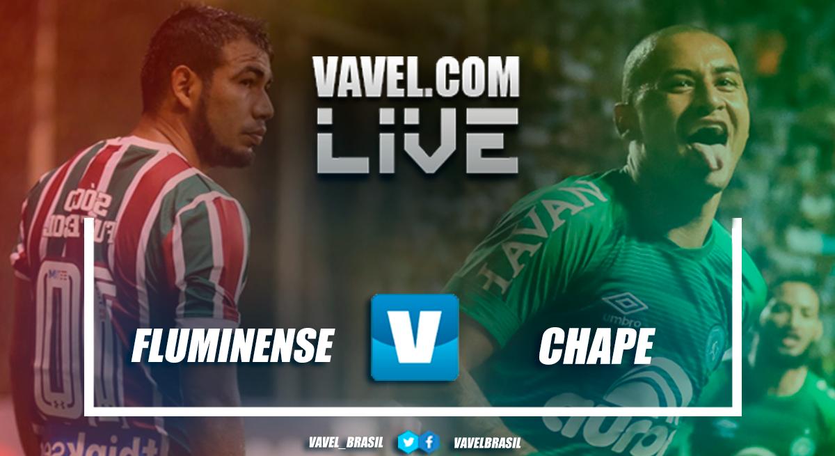 Resultado de Fluminense x Chapecoense pelo Campeonato Brasileiro 2018 (3-1)