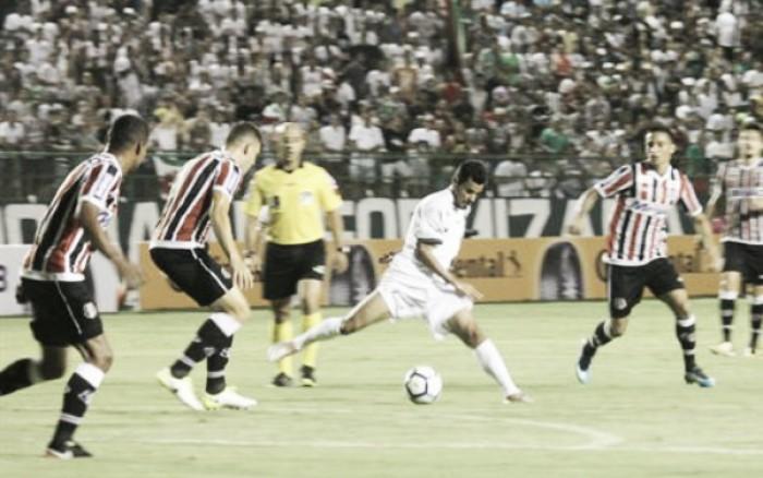 Fluminense de Feira marca um gol em cada tempo e despacha Santa Cruz da Copa do Brasil