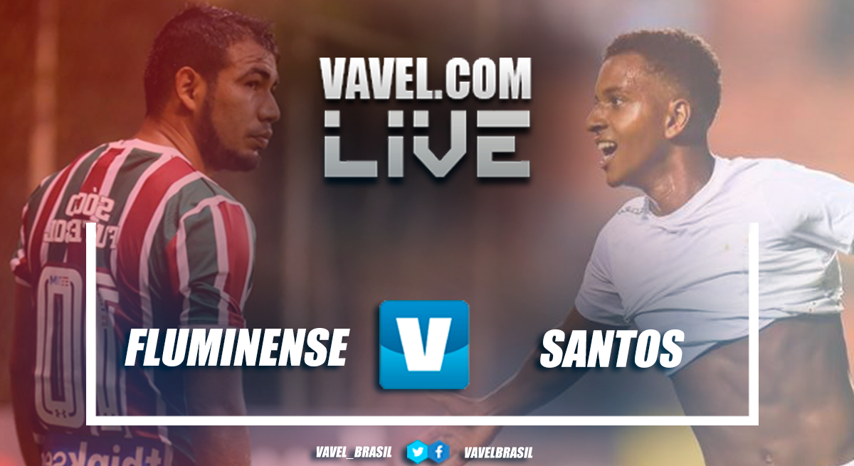 Resultado Fluminense x Santos no Campeonato Brasileiro 2018 (0-1)