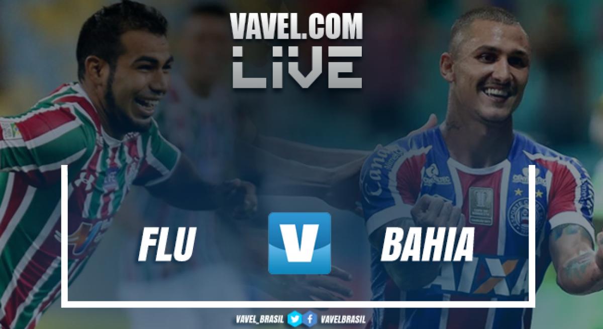 RESULTADO Fluminense x Bahia no Campeonato Brasileiro 2018 (1-1)