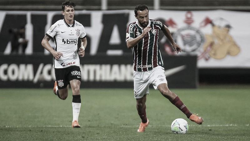 Com a chance de poupar titulares, Fluminense recebe Corinthians na Série A