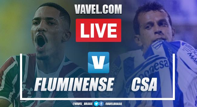Gols e melhores momentos Fluminense 0x1 CSA pelo Campeonato Brasileiro 2019