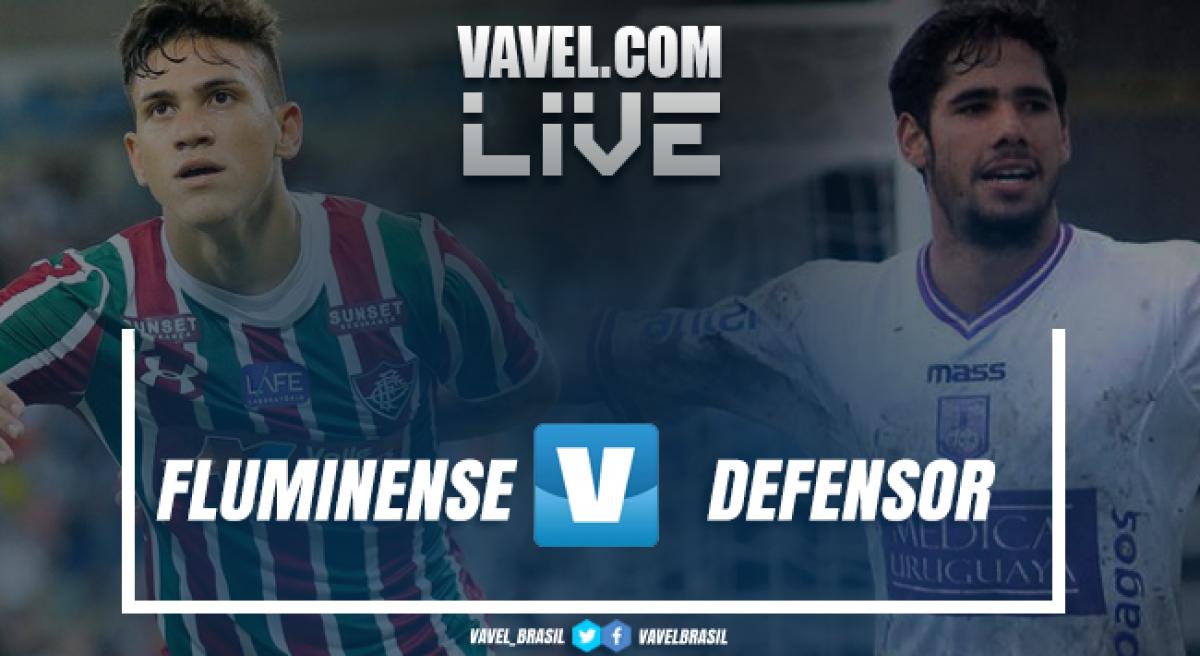 Resultado Fluminense 2 x 0 Defensor-URU pela Copa Sul-Americana 2018