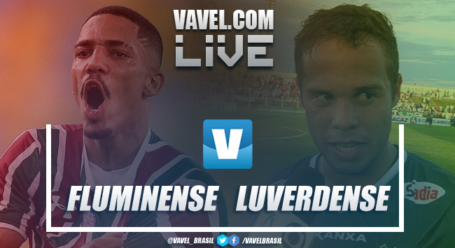 Resultado Fluminense x Luverdense pela Copa do Brasil (2-0)