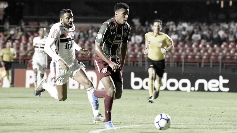 Confronto de tricolores: São Paulo e Fluminense buscam permanência na parte superior da tabela