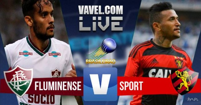 Resultado Fluminense x Sport na Série A do Campeonato Brasileiro 2016 (3-1)