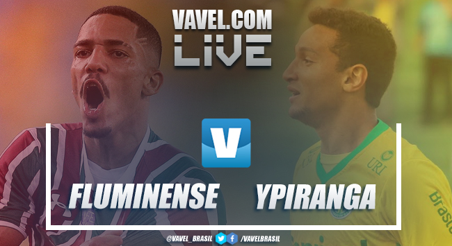Resultado Fluminense 3 x 0 Ypiranga-RS na Copa do Brasil