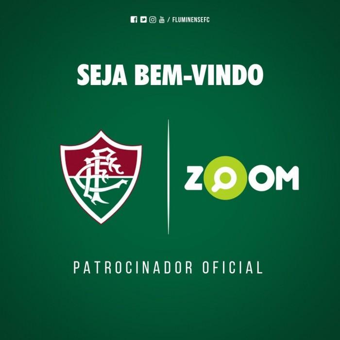 Fluminense anuncia acordo com site até o final do ano — Novo patrocinador