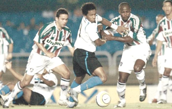 Recordar é viver: em 2005, Fluminense goleia Grêmio na ida da Copa do Brasil