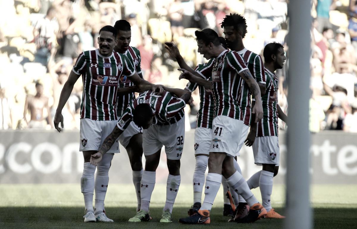 Com cinco jogadores, Fluminense domina seleção do Campeonato Carioca
