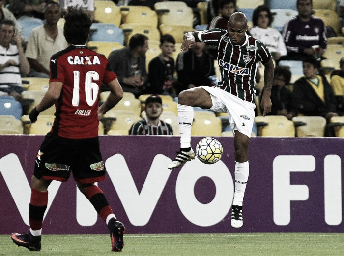 Na volta ao Maracanã, Fluminense cede empate no fim para o Vitória e segue fora do G-6