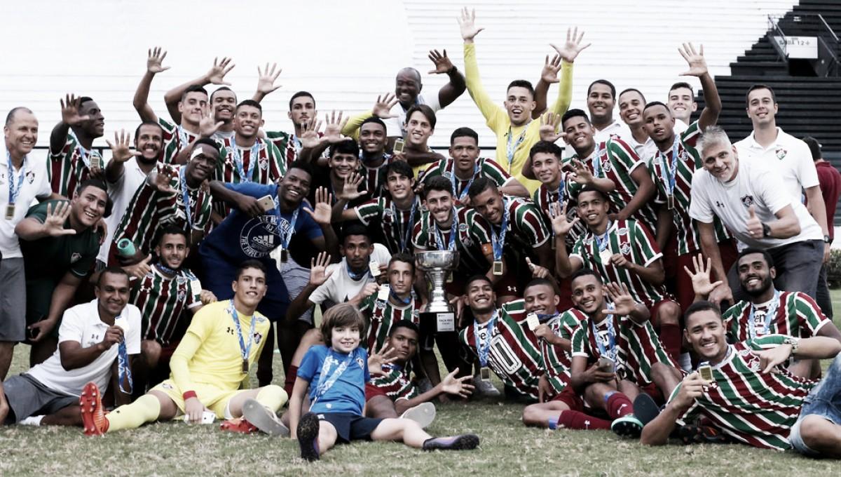 Em clássico de oito gols, Fluminense vence Vasco e conquista a Taça Rio sub-20