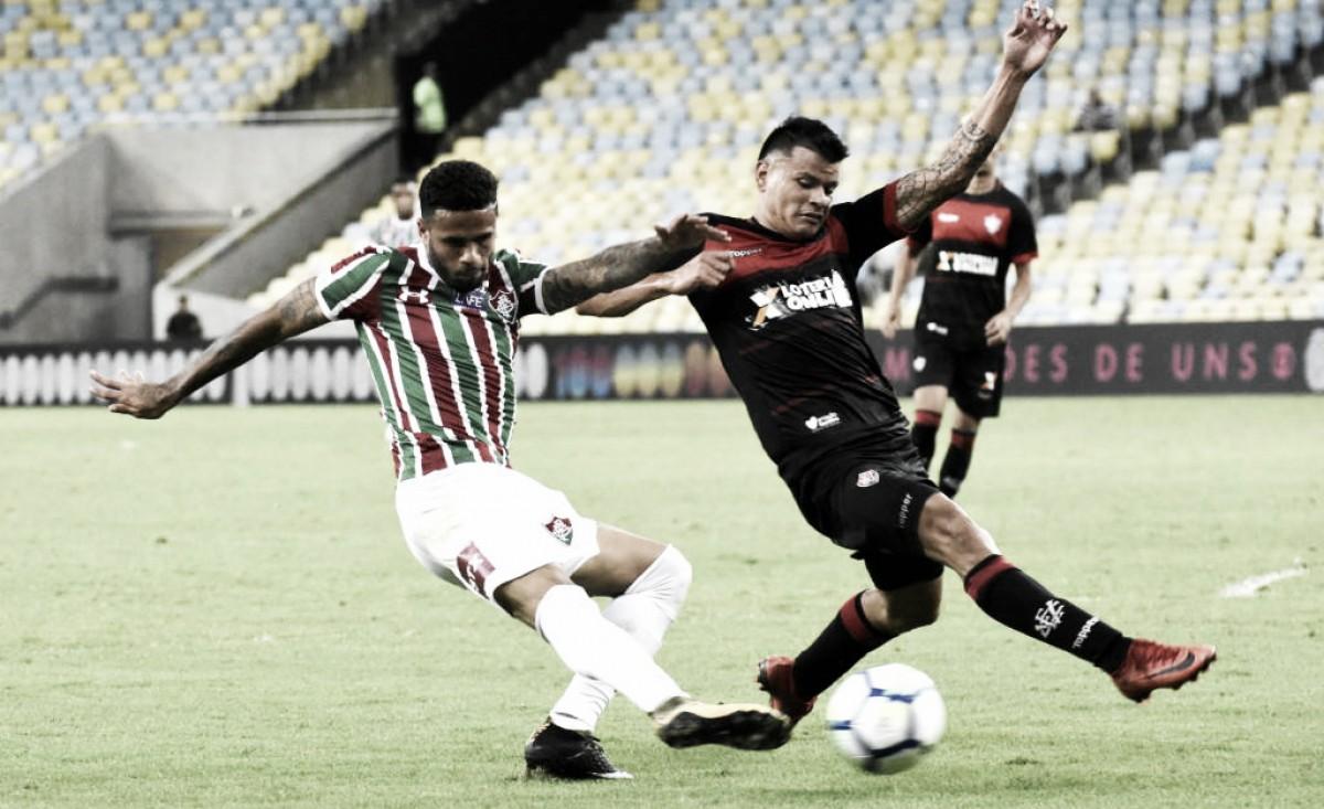 Fluminense e Vitória fazem jogo fraco e não saem do zero no Maracanã