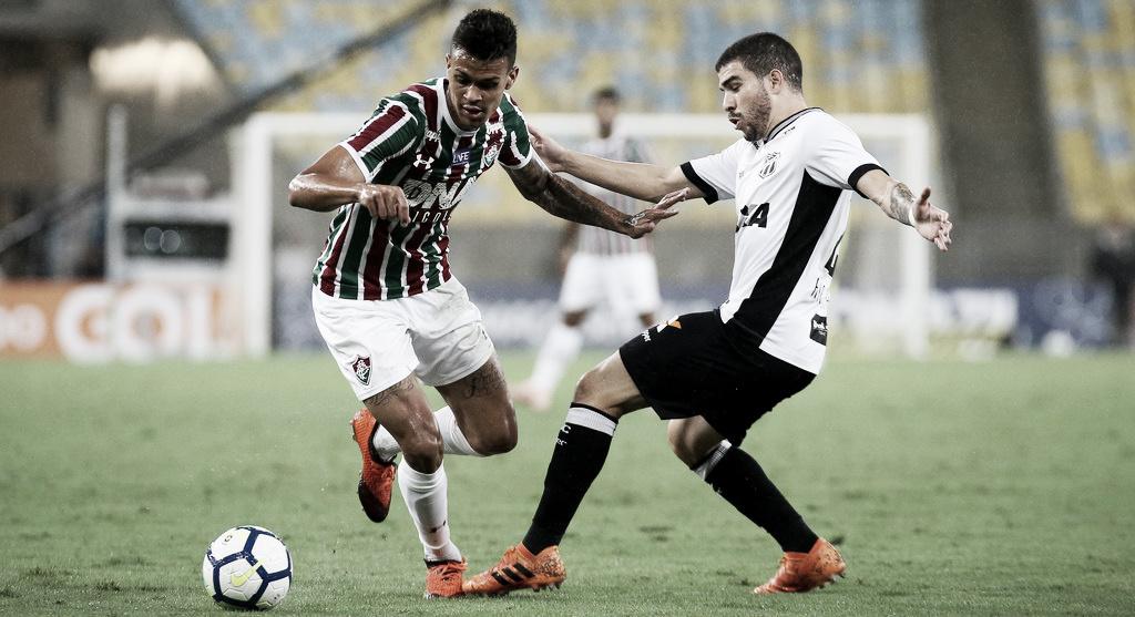 Em jogo morno, Fluminense e Ceará apenas empatam sem gols no Maracanã