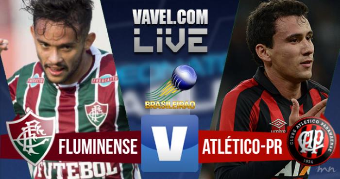 Resultado Fluminense x Atlético-PR no Brasileirão 2016 (1-1)