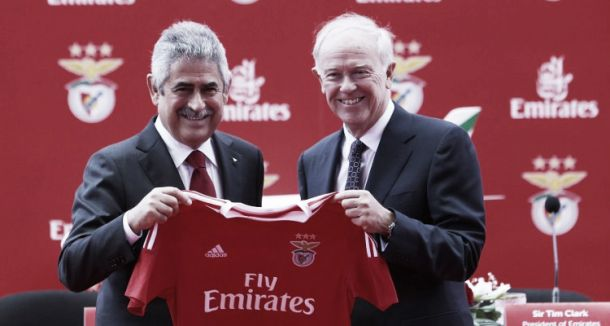 Benfica no grupo exclusivo patrocinado pela Fly Emirates