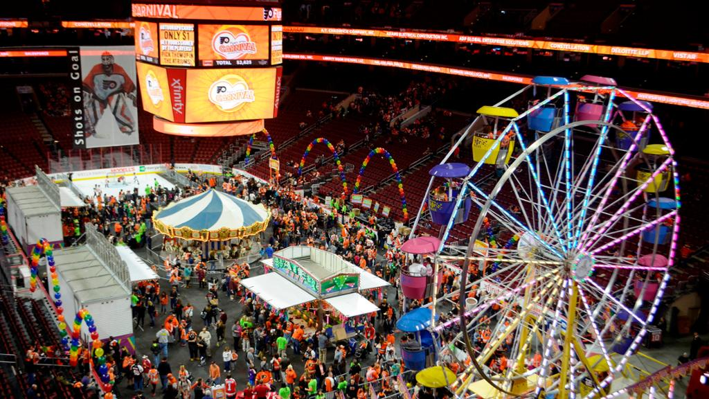 Philadelphia Flyers Carnival: A Bright Spot in the City of Brotherly Love