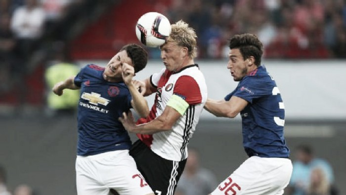 Feyenoord 1-0 Manchester United - Player Ratings: A night to forget for the visitors