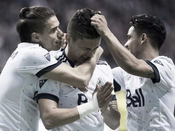 Fredy Montero stars as the Vancover Whitecaps win against Seattle Sounders FC