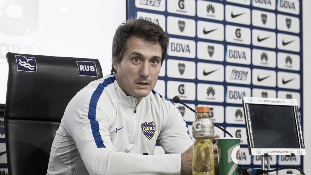 "Guillermo: ""No vi nerviosismo, manejamos la pelota"""
