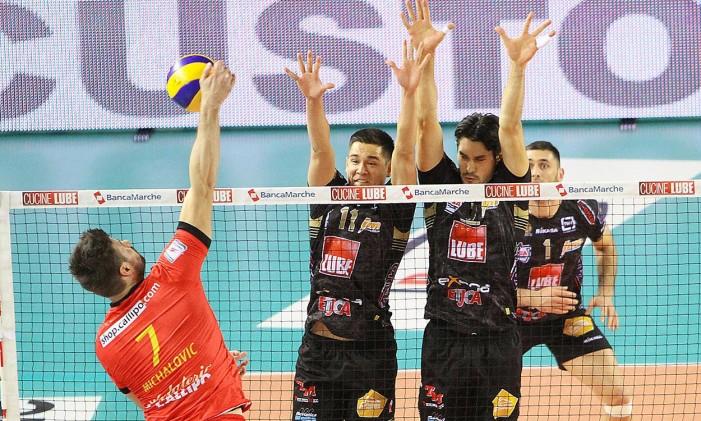 VolleyM, Coppa Italia: la Lube Civitanova Marche batte 3-0 la Tonno Callipo Vibo Valentia e vola alla Final4