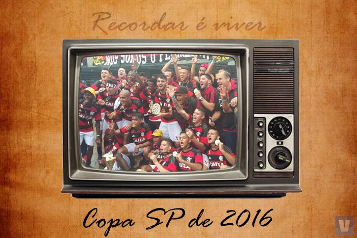 A glória do tricampeonato: Flamengo sagrou-se campeão da Copinha em 2016