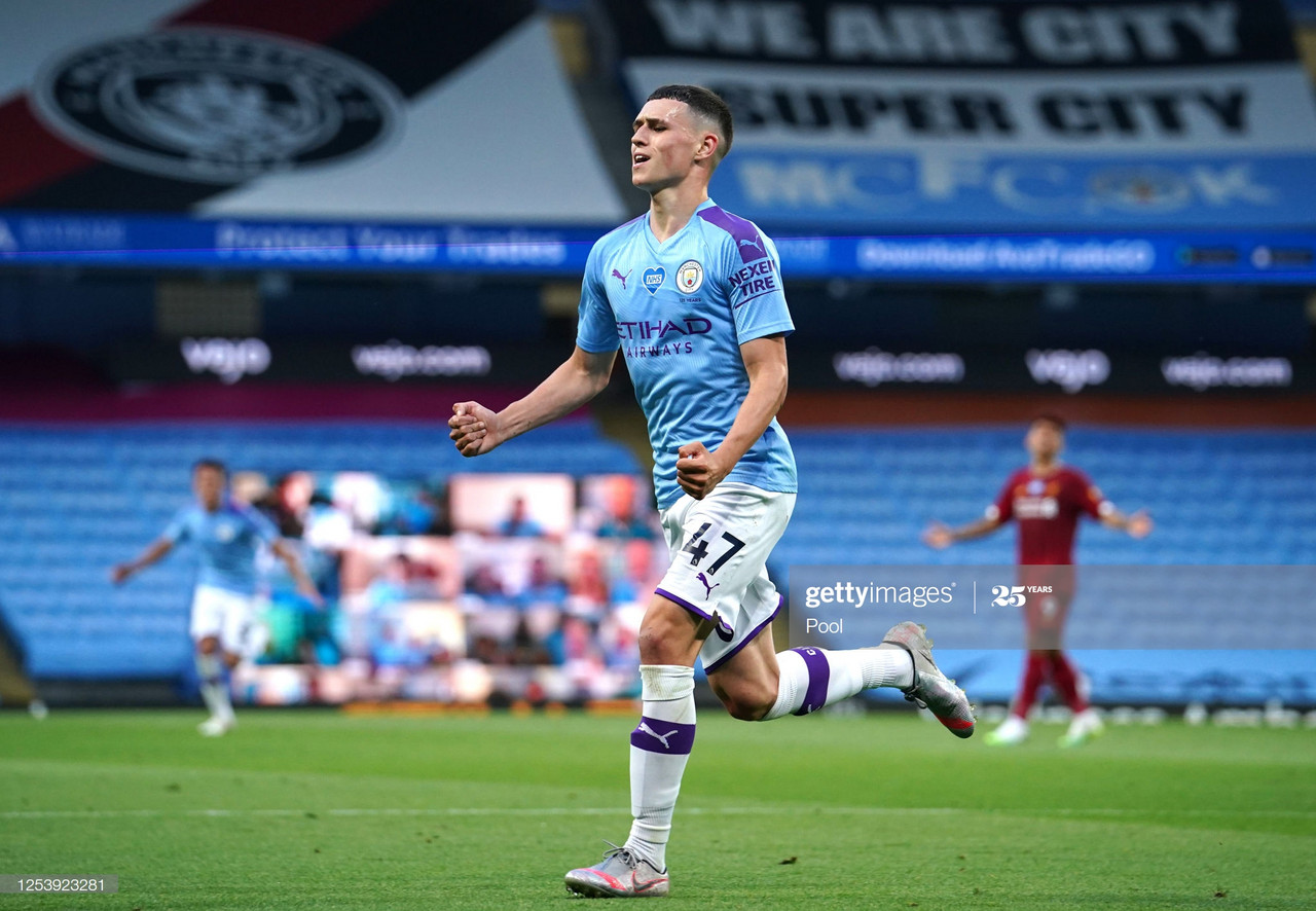 Manchester City 4-0 Liverpool: Fabulous Foden runs the show as the former champions demolish the newly crowned titleholders