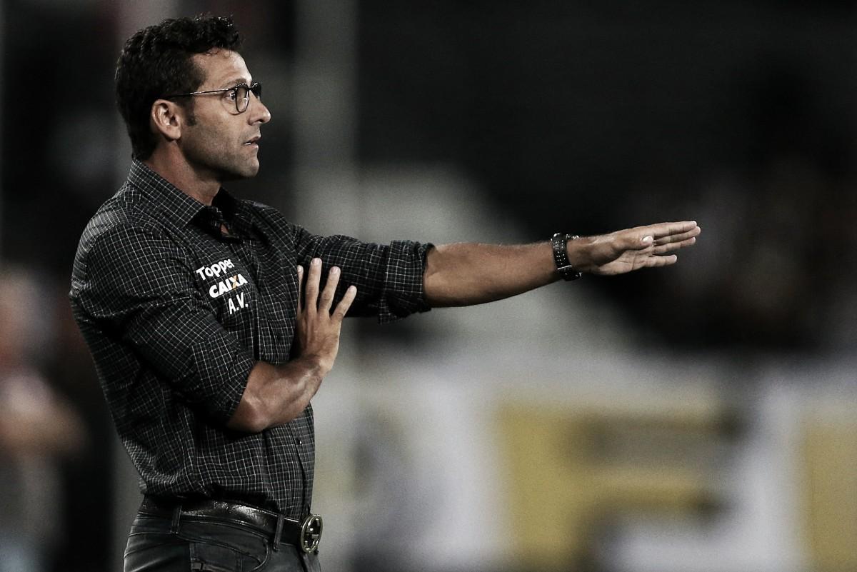 """Valentim vê evolução no Botafogo e tira 'peso' nas costas: """"Precisávamos dessa vitória"""""""