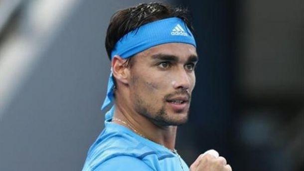 Fognini é più forte della pioggia: ora Djokovic