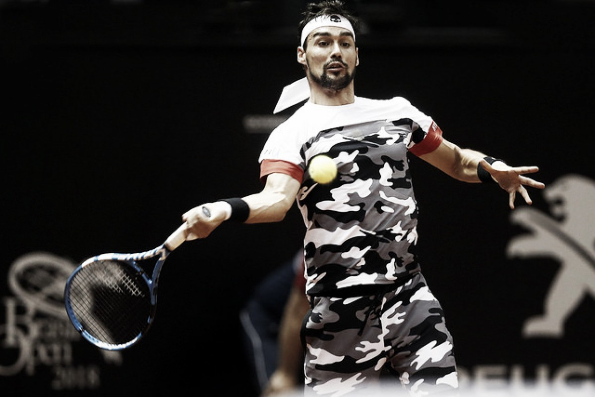 Fognini domina Garcia Lopez e desafia Cuevas na semifinal do Brasil Open