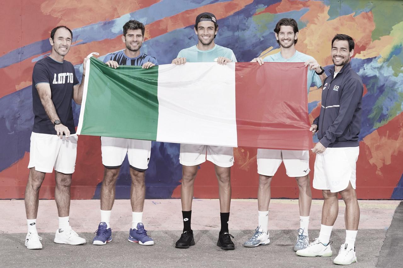 Itália vira confronto contra a Áustria e estreia com vitória na ATP Cup 2021