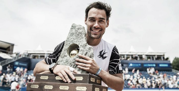 Fognini, campeón en Gstaad