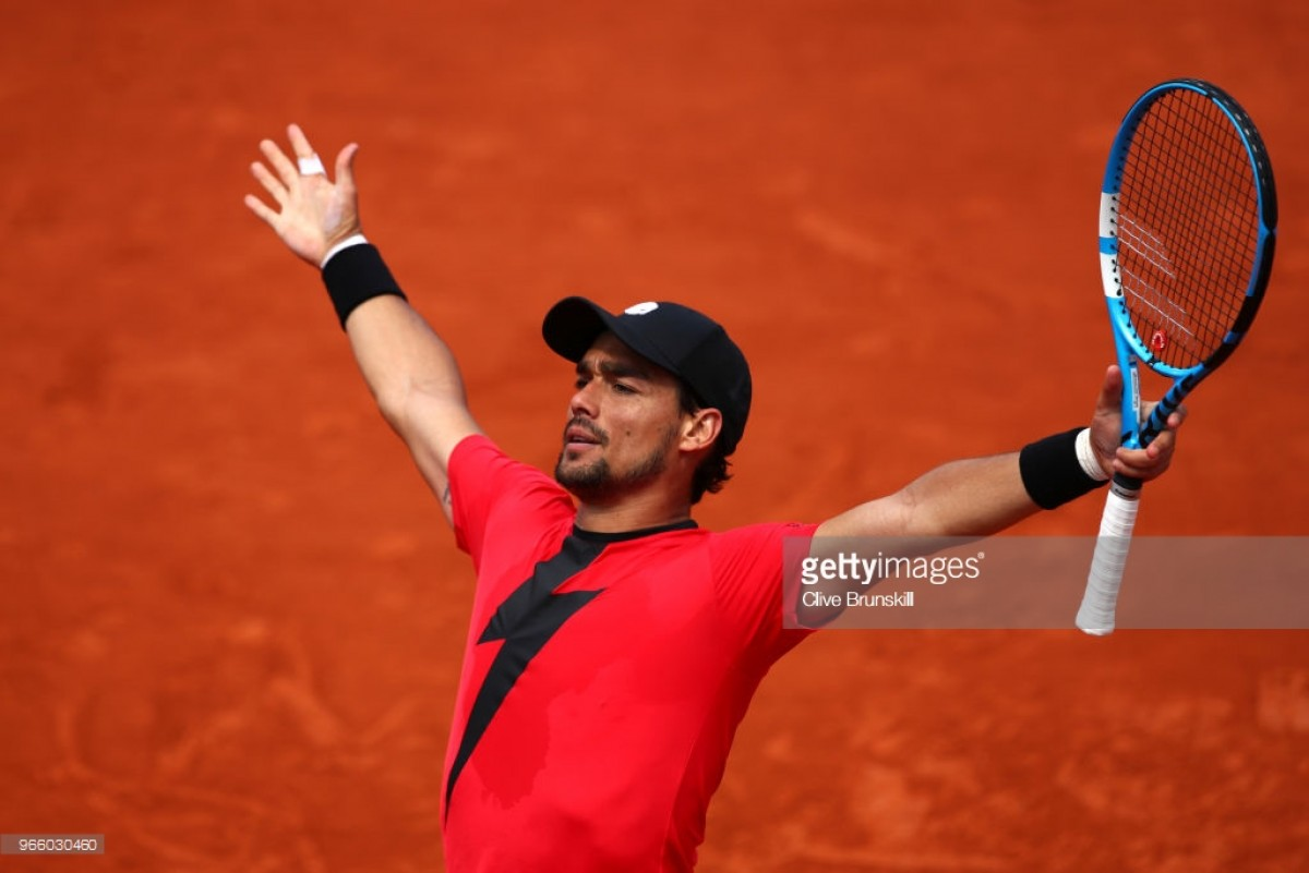 2018 French Open: Fognini ends Edmund's run after five-set battle in Paris