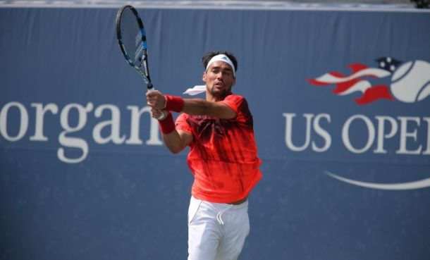 Finisce il sogno di Fognini agli Us Open: vince Lopez in tre set