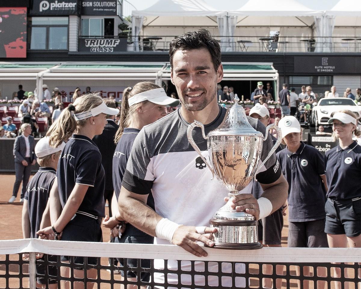 Fognini derruba Gasquet e conquista ATP 250 de Bastad pela primeira vez