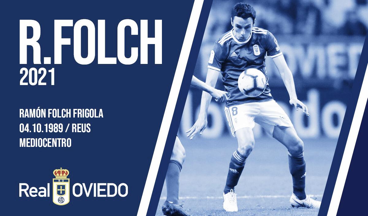 Ramón Folch y el Real Oviedo, juntos hasta 2021