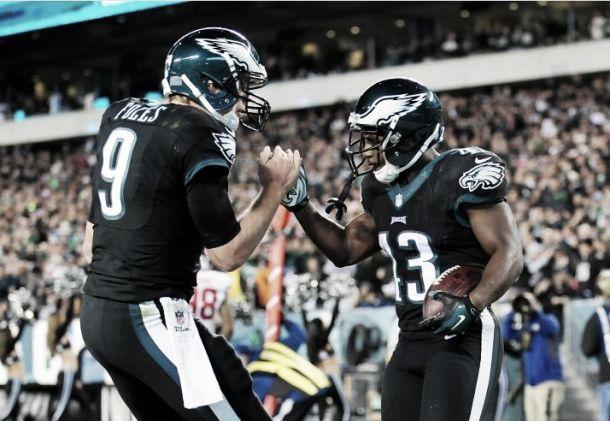 Los Eagles blanquean a los Giants en el SNF