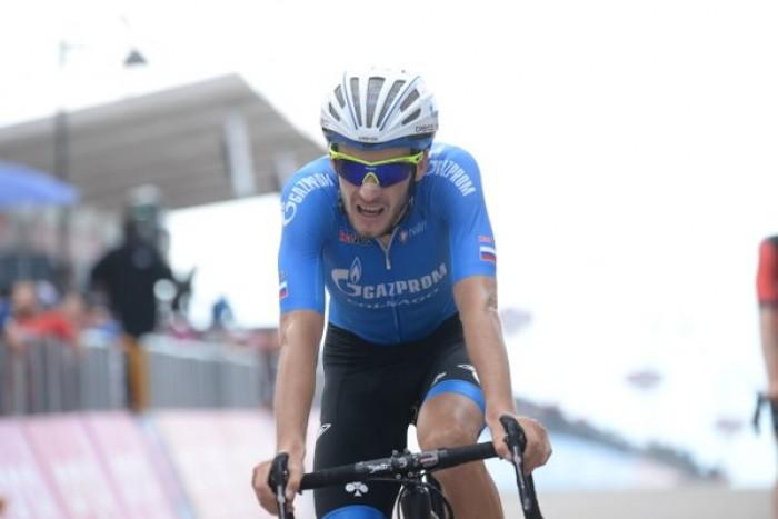 Giro: Foliforov crée la surprise, Nibali s'enfonce dans le doute