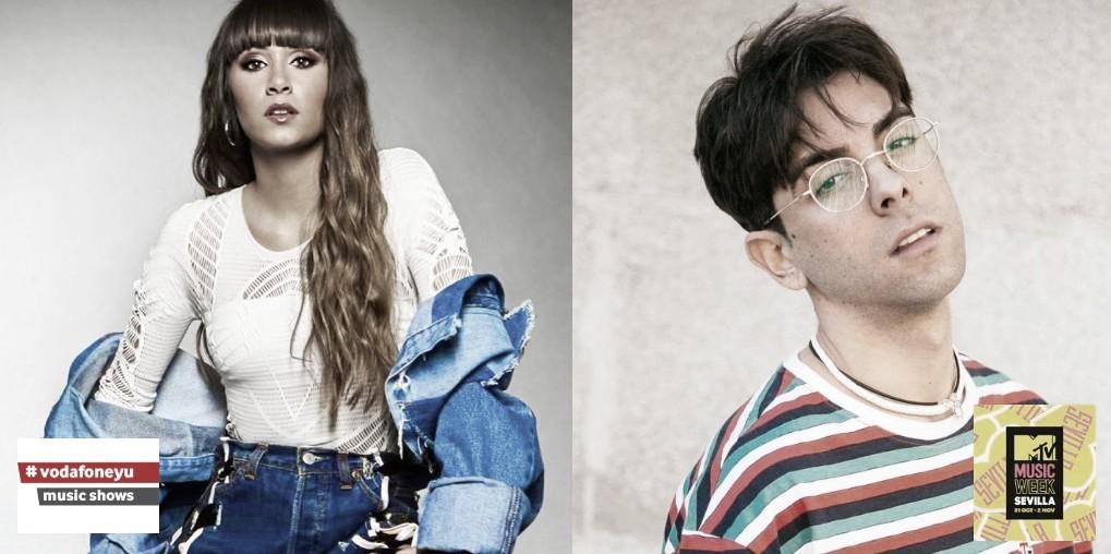 Aitana y Don Patricio, confirmados para la MTV Music Week Sevilla 2019