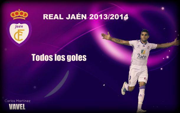 Todos los goles del Real Jaén 2013-14 en la Liga Adelante
