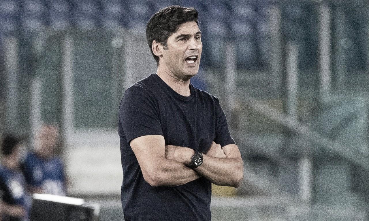 Escolhas de Paulo Fonseca são questionadas após derrota da Roma