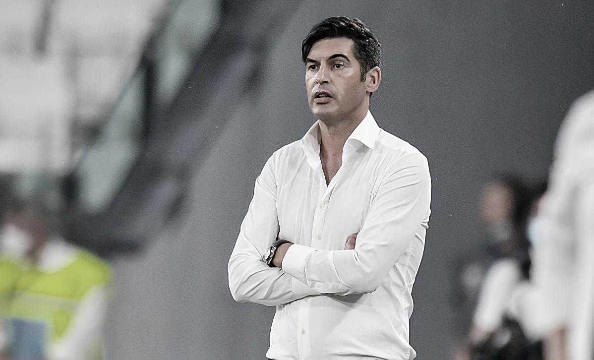 Paulo Fonseca comemora atuação contra Juventus e projeta confronto com Sevilla pela Europa League