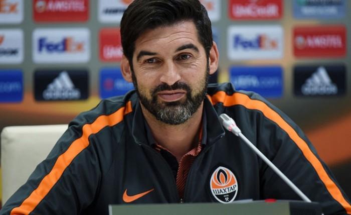 Champions League - Shakhtar Donetsk, Fonseca: