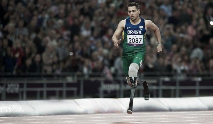 Alan Fonteneles: atual campeão paralímpico nos 200m quer brilhar outra vez no Rio