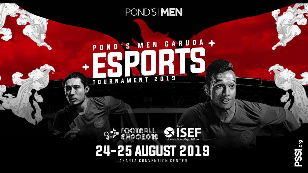 Turnamen Pond's Men Garuda E-Sports 2019 di Football Expo PSSI